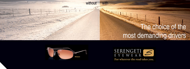 Serengeti Frames at Alexander Optometrists
